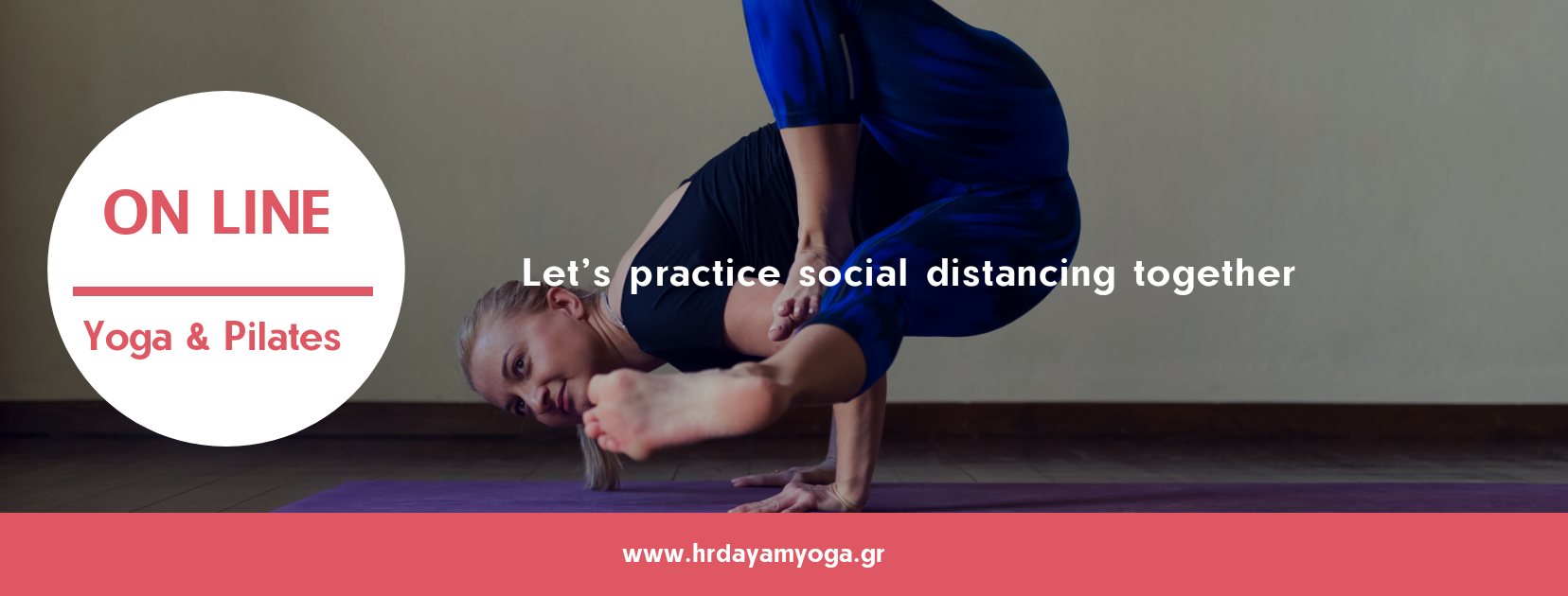 Online μαθήματα Yoga & Pilates