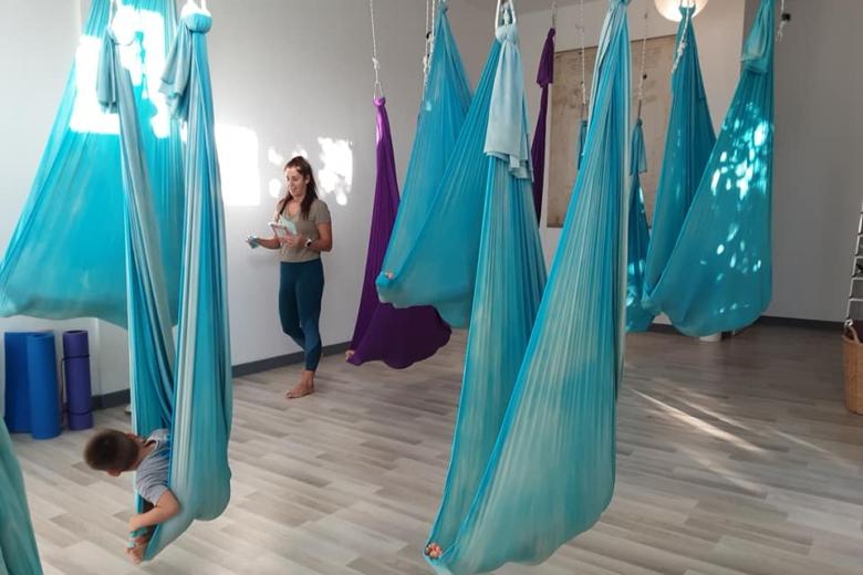 Aerial Yoga Teens